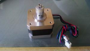 Y-axis motor